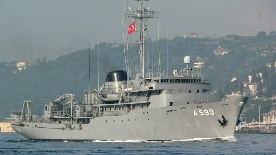 Στο Κεντρικό Αιγαίο το τουρκικό Cesme - Άρχισε τις εργασίες του για υδρογραφικές έρευνες