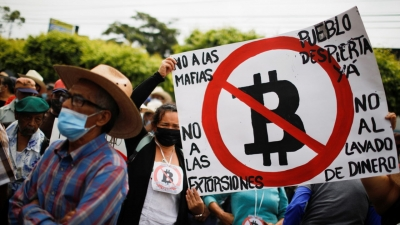 Διαδηλώσεις κατά του bitcoin στο Ελ Σαλβαδόρ - Κίνηση υψηλού ρίσκου εν μέσω αστάθειας