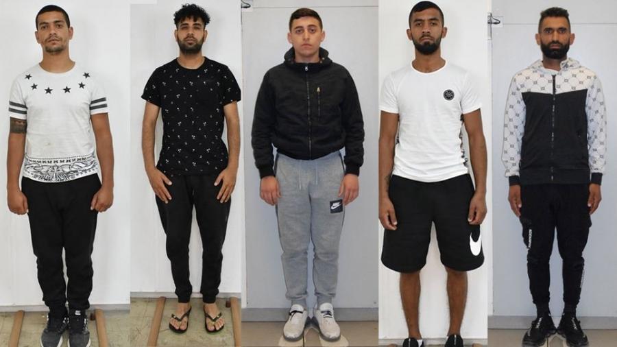 Αυτά είναι τα πέντε μέλη σπείρας που έκλεβαν αυτοκίνητα και καταστήματα στην Αττική