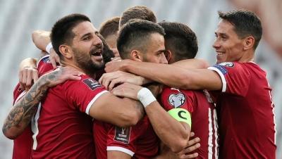 Προκριματικά Παγκοσμίου Κυπέλλου 2022, 1ος όμιλος: Στην κορυφή με… περίπατο η Σερβία – Μοιράστηκαν τον πρώτο τους βαθμό Ιρλανδοί και Αζέροι