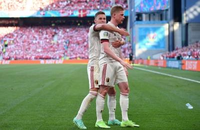 Euro 2020, Δανία - Βέλγιο 1-2: Από «αρνάκια» έγιναν ξανά... Διάβολοι οι Βέλγοι μόλις μπήκε ο Ντε Μπρόινε! (video)