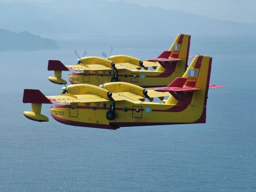 Πυρκαγιές στην Τουρκία: Η ΕΕ στέλνει τρία Canadair - Επικρίσεις κατά Erdogan