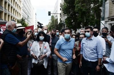 Τσίπρας: Ο κόσμος της εργασίας θα δώσει ρεπό διαρκείας στην κυβέρνηση Μητσοτάκη