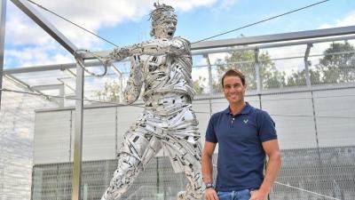 Rafael Nadal: Ο Ισπανός θρύλος του Τένις απέκτησε το δικό του άγαλμα στο Roland Garros