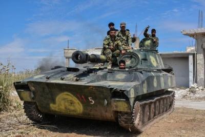 Συρία: Προέλαση των κυβερνητικών δυνάμεων με την υποστήριξη της Ρωσίας, νοτιοανατολικά του Ιντλίμπ