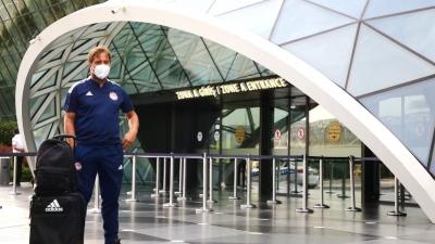 Ολυμπιακός: Έφτασαν στο Μπακού οι «ερυθρόλευκοι»