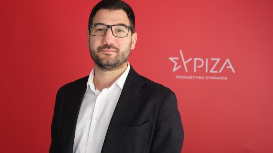 Ηλιόπουλος: Προσωπική επιλογή Μητσοτάκη, ο Λιγνάδης - Εξοργιστική η μη παραίτηση της Μενδώνη