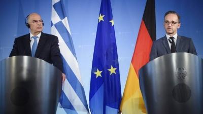 Επικοινωνία Δένδια με Maas (Γερμανία) ενόψει Συμβουλίου Εξωτερικών Υποθέσεων
