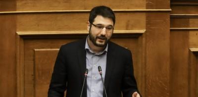 Ηλιόπουλος: Οι μάσκες- κουκούλες της κυβέρνηση θα ήταν για γέλια εάν δεν ήταν για κλάματα και άκρως επικίνδυνες