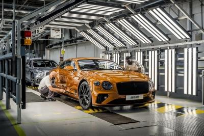 Bentley: Αύξηση κατά 50% στις παραγγελίες το 2021 με ώθηση από την κινεζική ζήτηση