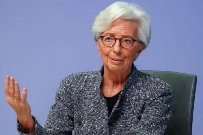 Lagarde: Ικανοποιητική πρόοδος στις συνομιλίες για τη νέα στρατηγική στη νομισματική πολιτική της ΕΚΤ