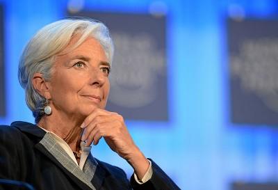 Απογοητευμένη η Christine Lagarde για τον μικρό αριθμό γυναικών σε θέσεις ευθύνης