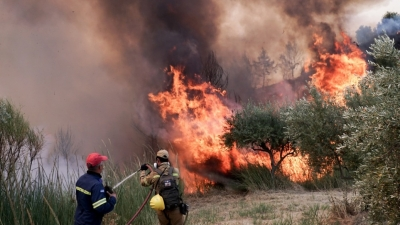 Ηλεία: Μήνυμα του 112 για εκκένωση των περιοχών Δούκας και Μηλιές