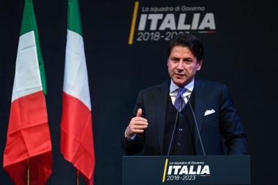 Conte (Ιταλός πρωθυπουργός): Ευελπιστώ ότι οι συνομιλίες με την ΕΕ για τον προϋπολογισμό θα στεφθούν με επιτυχία