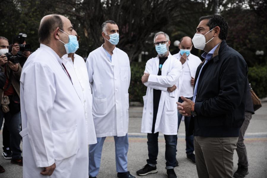 Τσίπρας: Δραματική η κατάσταση στα νοσοκομεία – Κορυφώνεται η τραγωδία