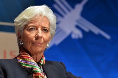 Lagarde (ΕΚΤ): Το outlook της ευρωζώνης περιβάλλεται από μεγάλη αβεβαιότητα - Απαιτείται δημοσιονομική παρέμβαση