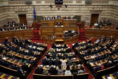 Σύγκρουση εντυπώσεων στη Βουλή για τη Συμφωνία των Πρεσπών - «Περνά» με 153 στις 24/1 - Κάνει πίσω η ΝΔ στα σχέδια για πρόταση μομφής