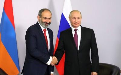Αρμενία: Ζητά τη συνδρομή της Ρωσίας για να υπάρξουν εγγυήσεις για την ασφάλεια της
