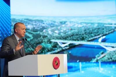 Ο Erdogan εγκαινίασε την κατασκευή του Καναλιού της Κωνσταντινούπολης