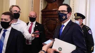 Mnuchin (ΗΠΑ): Θα συζητήσουμε το εθνικό στρατηγικό σχέδιο τεστ για το Covid-19 με τους Δημοκρατικούς