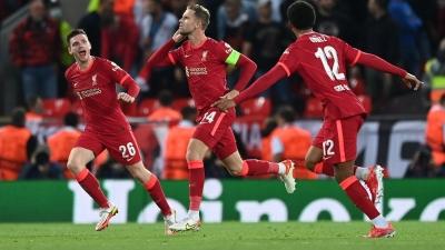 Champions League: Όταν το Άνφιλντ φοράει τα καλά του, η Λίβερπουλ δέχεται γκολ, αλλά δεν χάνει!