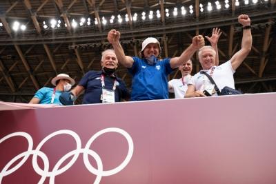 Πομάσκι: «Λίγοι αθλητές αντιδρούν όπως ο Μίλτος υπό πίεση» (video)