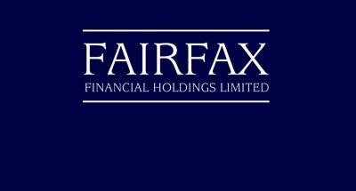 Το Fairfax έχει κερδίσει περίπου 450-500 εκατ από τις επενδύσεις στην Ελλάδα σε ομόλογα, Eurolife και Eurobank