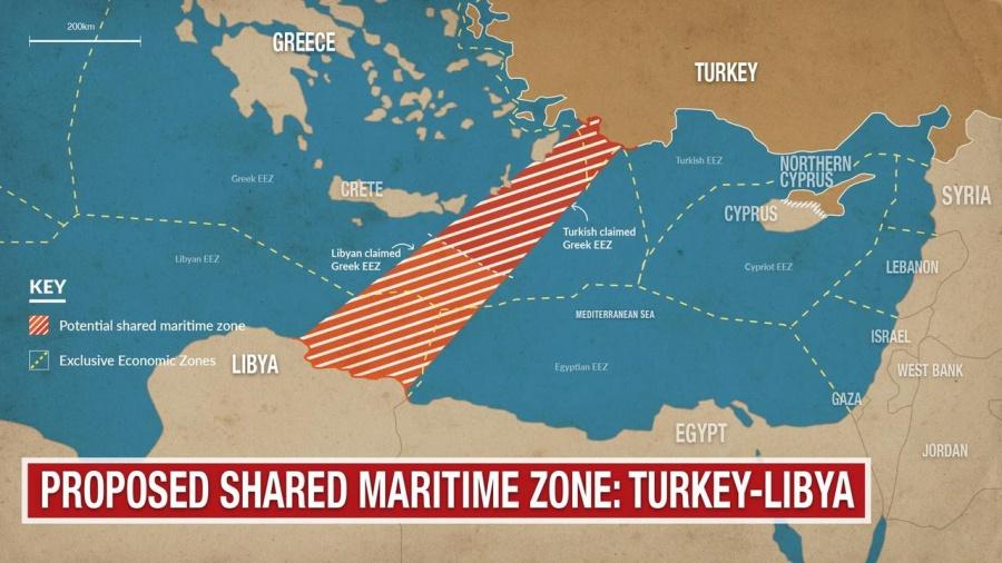 Al Jazeera: Ο μακροχρόνιος πόλεμος στην μετά Gaddafi εποχή στην Λιβύη κινδυνεύει να μεταφερθεί στην Μεσόγειο λόγω Τουρκίας – Ελλάδος