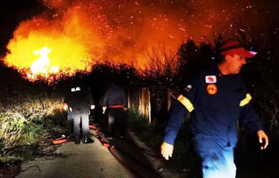 Σε εξέλιξη η πυρκαγιά στην Αργολίδα – 49 φωτιές σε όλη την Ελλάδα το τελευταίο 24ωρο