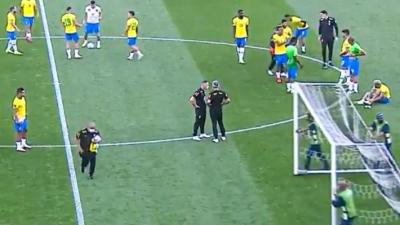 Βραζιλία - Αργεντινή: Ανοικτή... προπόνηση για τους οπαδούς από τους Βραζιλιάνους μετά τη διακοπή!
