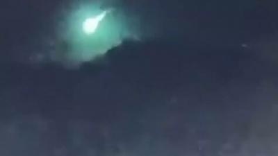 Μετεωρίτης χτυπά στον ουρανό της Σμύρνης και σκορπά τον φόβο για το «τέλος του κόσμου»