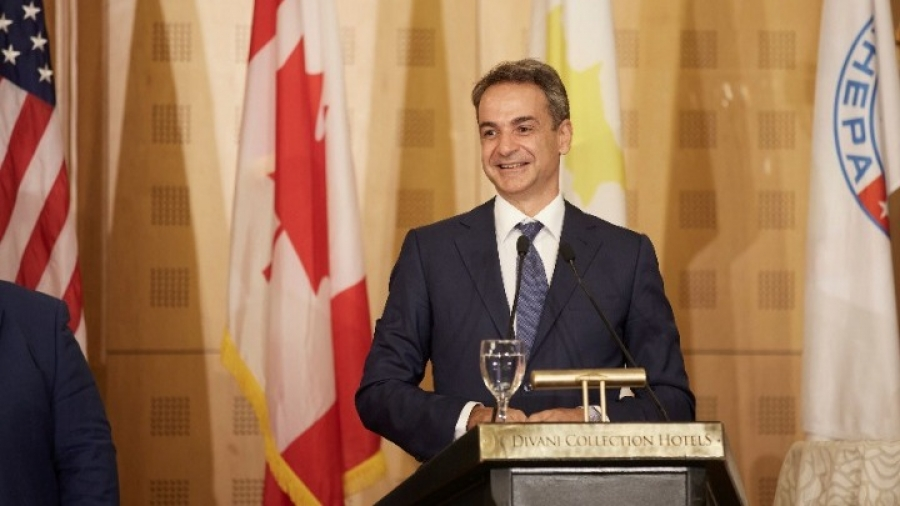 Μητσοτάκης στην AHEPA: Η Κύπρος είναι υπό κατοχή, τη θέλουμε ελεύθερη - Ραγδαία ανάπτυξη στην Ελλάδα τα επόμενα χρόνια