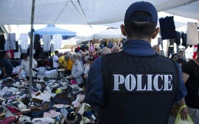Eπιχείρηση της αστυνομίας για την πάταξη λαθρεμπορίου και παραεμπορίου στο Σχιστό