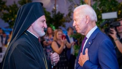 Ευχαριστήρια επιστολή Biden στον Αρχιεπίσκοπο Ελπιδοφόρο