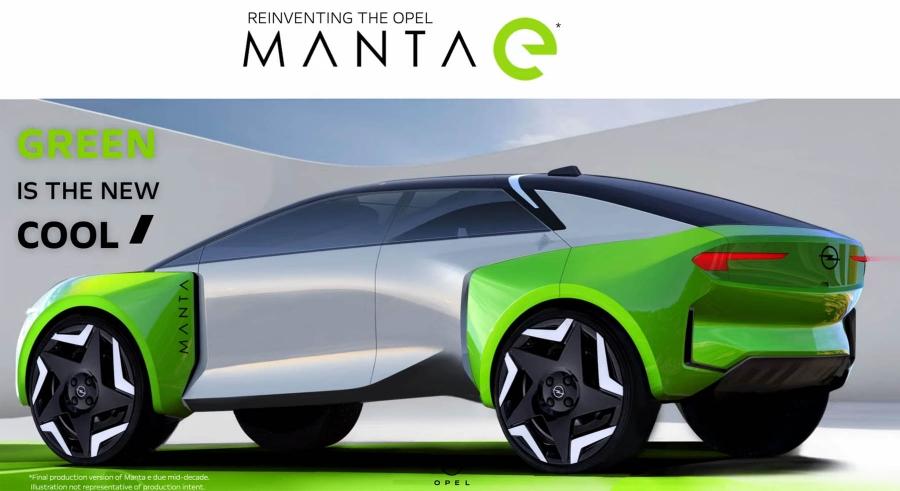 Επίσημο: To Opel Manta επιστρέφει!