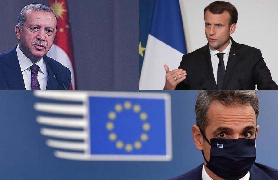 Νέες απειλές από Erdogan: Δεν θα μας εγκλωβίσουν θα πληρώσουν βαρύ τίμημα - Συμμαχία Ελλάδας και Γαλλίας και η ατζέντα με Macron