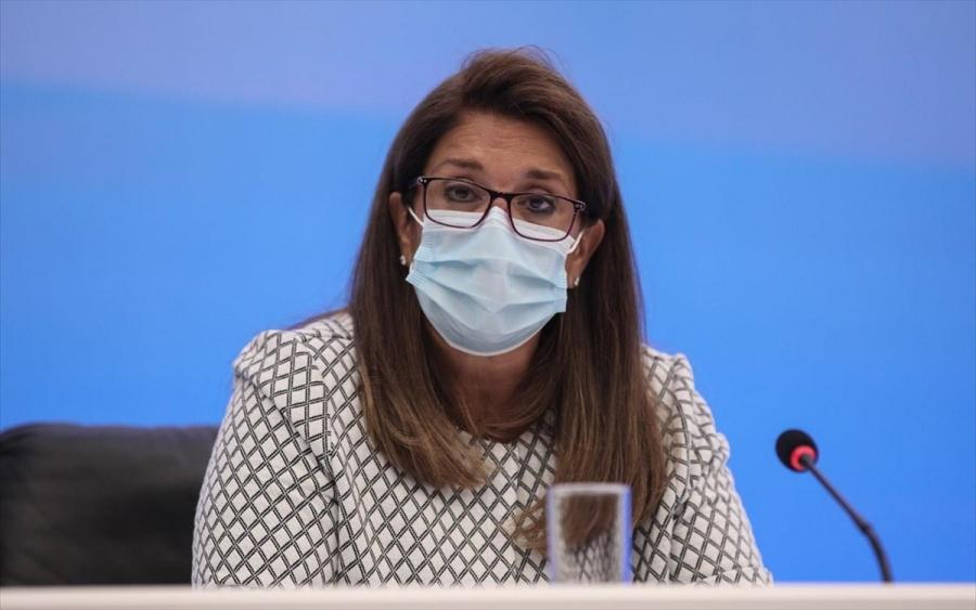 Παπαευαγγέλου: Χωρίς μάσκες πλέον στους εξωτερικούς χώρους - Τέλος τα self tests για τους εμβολιασμένους