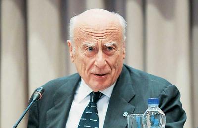 Απεβίωσε σε ηλικία 83 ετών ο τραπεζίτης και πρώην επικεφαλής της Alpha Bank, Γιάννης Κωστόπουλος