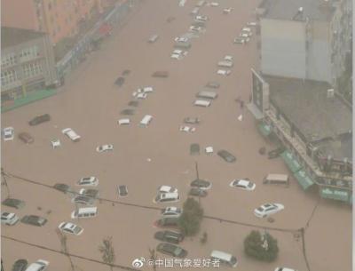 Κίνα: 25 νεκροί από τις χειρότερες καταιγίδες της χιλιετίας – Jinping: Εξαιρετικά σοβαρές πλημμύρες