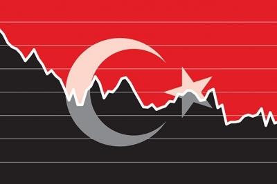 Υποχωρεί η τουρκική λίρα με το επίκεντρο στα οικονομικά στοιχεία
