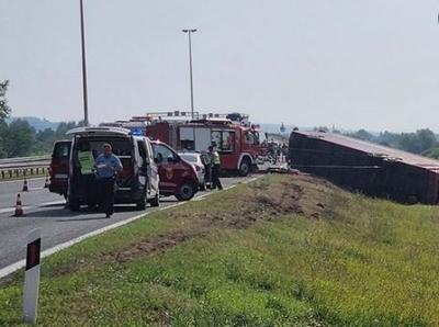 Κροατία: Δυστύχημα με λεωφορείο - Τουλάχιστον 10 νεκροί και δεκάδες τραυματίες