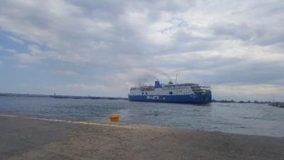 Μηχανική βλάβη στο επιβατηγό οχηματαγωγό πλοίο «Aqua Blue»