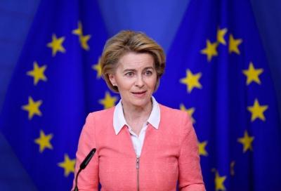 Von der Leyen (EE): Μαζί με τις ΗΠΑ να γράψουμε τους κανόνες της «ψηφιακής οικονομίας»