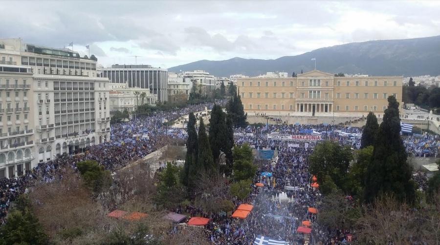 Μεγαλειώδες συλλαλητήριο σήμερα 20/1 στο Σύνταγμα - Οι Έλληνες αποδοκιμάζουν την αντεθνική Συμφωνία των Πρεσπών και ζητούν δημοψήφισμα