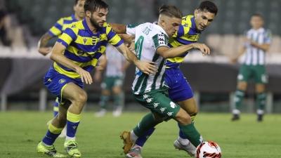 Παναθηναϊκός- Αστέρας Τρίπολης 1-1: «Τσακωμένος» με τη νίκη (και) στο ντεμπούτο του Λούντκβιστ!