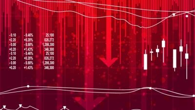 Ανησυχία στις αγορές για πληθωρισμό και cryptos - Πτώση -0,48% ο Dow Jones, μετά τα πρακτικά της Fed