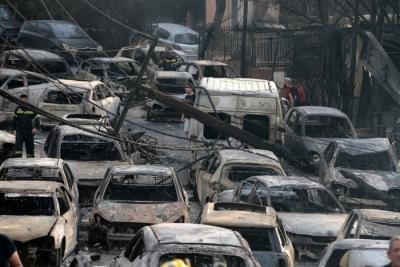 Πυρκαγιά στο Μάτι: Σε δίκη παραπέμπει 27 εμπλεκόμενους ο εισαγγελέας - Εδώλιο για Δούρου, Ψινάκη, Κολοκούρη και Καπάκη