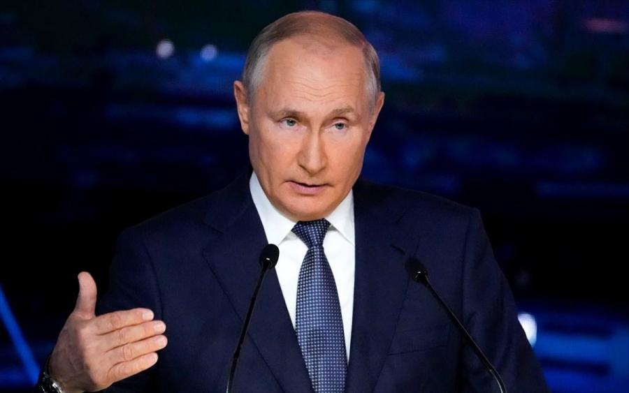 Ο Putin επιμένει ότι η Ρωσία δεν χρησιμοποιεί ως «όπλο» το φυσικό αέριο - Έτοιμη για διάλογο με την ΕΕ