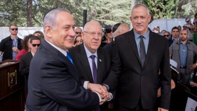 Ισραήλ: Συμφωνία Netanyahu - Gantz για τον σχηματισμό κυβέρνησης έκτακτης ανάγκης