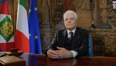 Mattarella: (Πρ. Ιταλίας): Ελπίζω Γερμανία και ΕΕ να μην γνωρίσουν την οδυνηρή πορεία της Ιταλίας